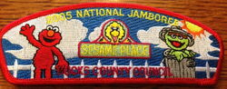 Sesame place patch 2005 bucks county council jamboree 2