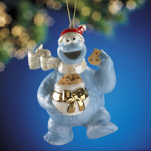 Lenox-Cookie-Monster-Ornament-2005
