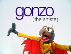 Muppetism Gonzo artiste