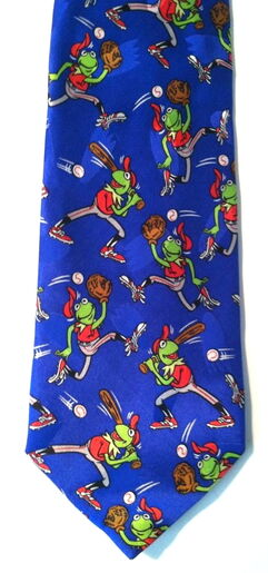 Kermit collection baseball tie 1