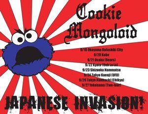 Cookie mongoloid japan flier