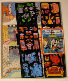 Colorforms 1977 count's castle 2