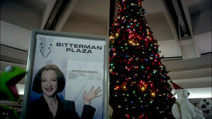 Bitterman Plaza Sign