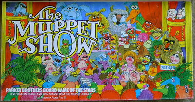 Parker brothers muppet show game of the stars 1