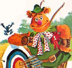 RobinHoodBook-1985-FozzieBear