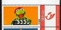 Muppet postage stamps (Belgium)
