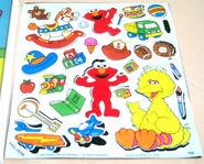 Colorforms 1992 elmo playset 3