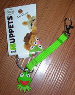 Hanover accessories kermit face keychain