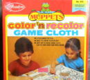 Muppet Color'n Recolor Game Cloth