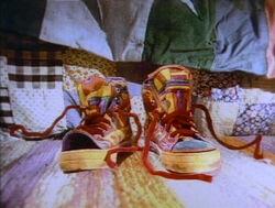 Isadora's sneakers