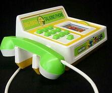 Big bird talking phone 1982 b