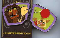Disney pin hinged e ticket 2
