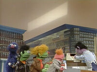 Grover at the Supermarket