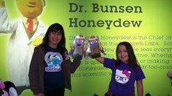 Disney Store Muppets craft event 2