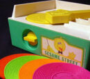 Sesame Street Music Box Record Player
