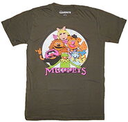 Mighty fine 2016 muppets t-shirt