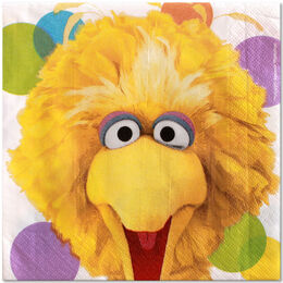 Party napkins big bird