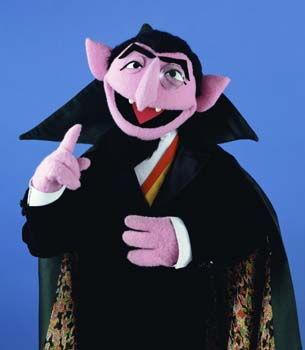 Weekly Muppet Wednesdays: Count von Count   The Muppet Mindset
