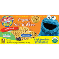 Blueberry Organic Mini Waffles