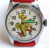 Bradley time 1974 big bird watch