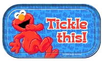 Vandor magnetic tin sign elmo