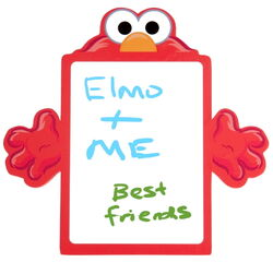 Delta childrens products 2011 dry erase memo board elmo