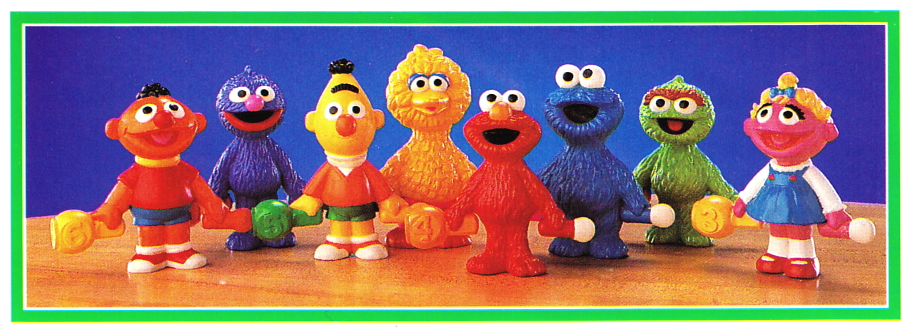 151643929274 moreover Cabin Boy Gonzo and Rizzo Action Figures together with Pop Together Friends additionally Muppet PVC figures  Applause additionally Loeb Post Oscars. on oscar and slimey figures