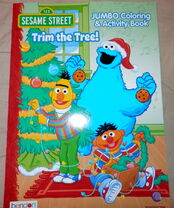 Bendon 2016 coloring books trim the tree