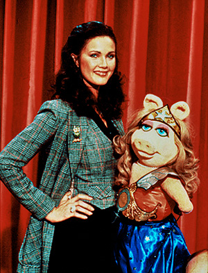 Lynda Carter Wonder Pig