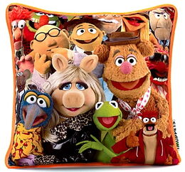 Disney store uk 2012 the muppets cushion