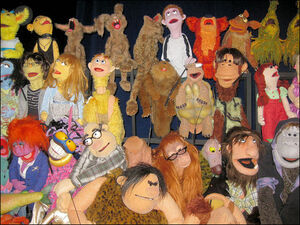 Puppetup cast