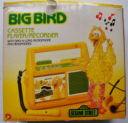 Daylin 1986 big bird cassette player 1