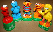 Sesame stamp figures