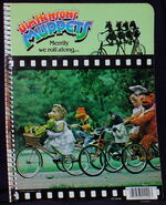 Stuart hall 1981 notebook bicycles