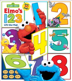 Elmo's 123 flap