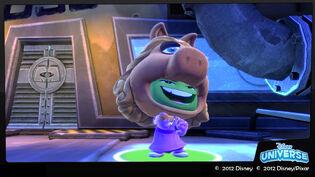 Du muppets piggy framed