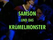 Samson und das Krümelmonster