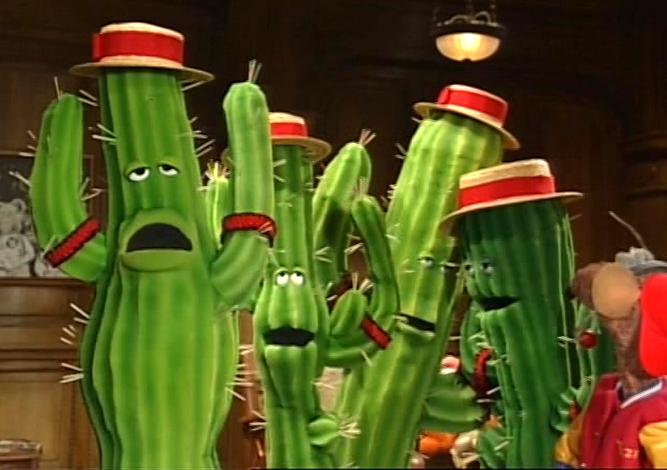The Barbershop Cactus Quartet | Muppet Wiki | Fandom ...