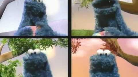 Sesame Street Eating Cookies All Year With Cookie Monster