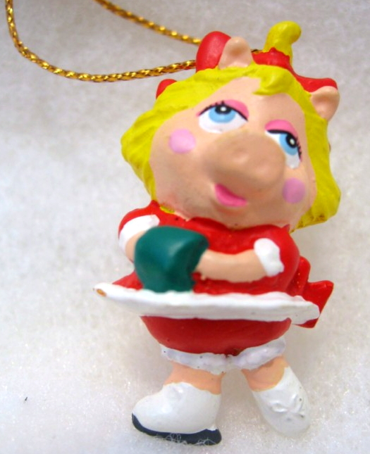 Muppet Babies Christmas Ornaments (Applause)