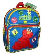 Elmo signs backpack