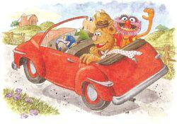 Muppetsincar