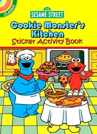 Sesame Street sticker books (Dover)