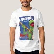 Zazzle kermit london shirt