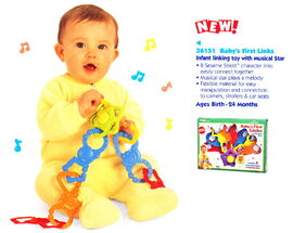 Tyco 1998 baby's first links