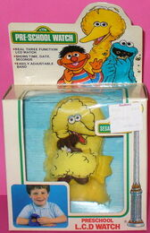 Lewco 1987 big bird pre-school watch