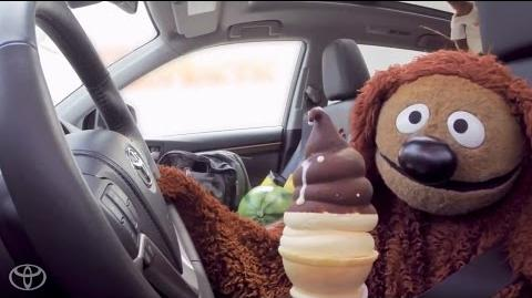 The Muppets and Toyota Highlander Get Ice Cream Toyota