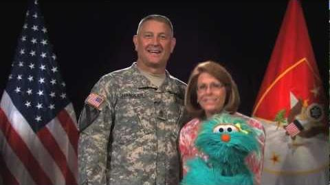Happy Birthday, Army! From Sgt. Maj. Chandler & Sesame Street