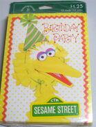 Drawing board 1977 big bird invites