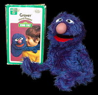 Child guidance 1973 grover puppet 1